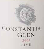 Constantia Glen Five Bdx Blend 2013