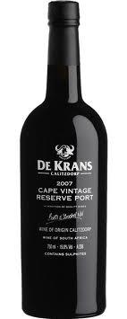 De Krans Cape Vintage Reserve 2015