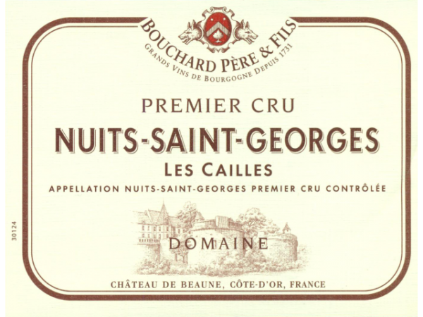 Nuits St Georges, Bouchard Pere Les Cailles