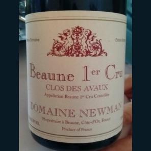 Beaune Clos des Avaux Dom Newman 2014