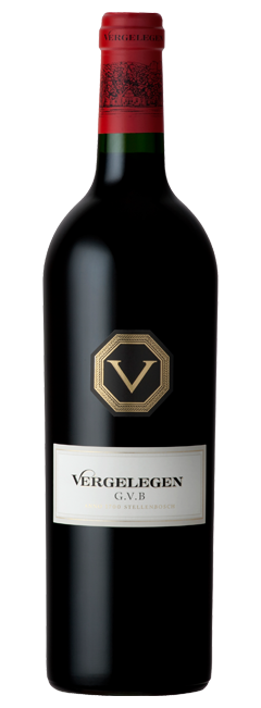 Vergelegen G.V.B Estate Red Blend 2012