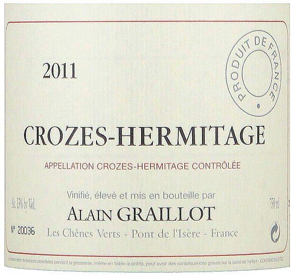Crozes-Hermitage Alain Graillot 2014