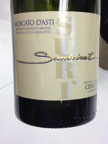Moscato d'Asti Cerutti 'Suri Sandrinet' 2014