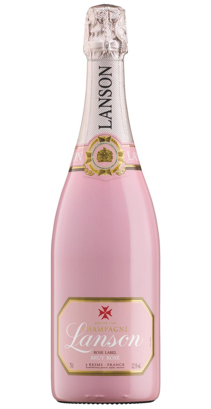 Lanson Rose Brut Nv Champagne