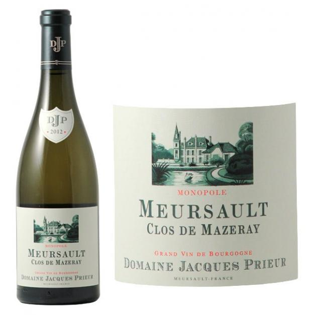 Meursault Clos de Mazeray J Prieur 2014