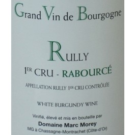 Rully Blanc 1er Cru Rabource M Morey 2013