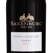 Saxenburg Private Collection Shiraz 2015