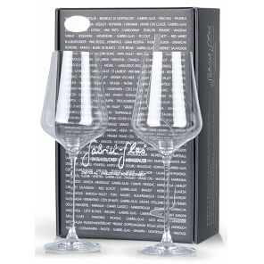 Gabriel Glass 2-piece Glass pack