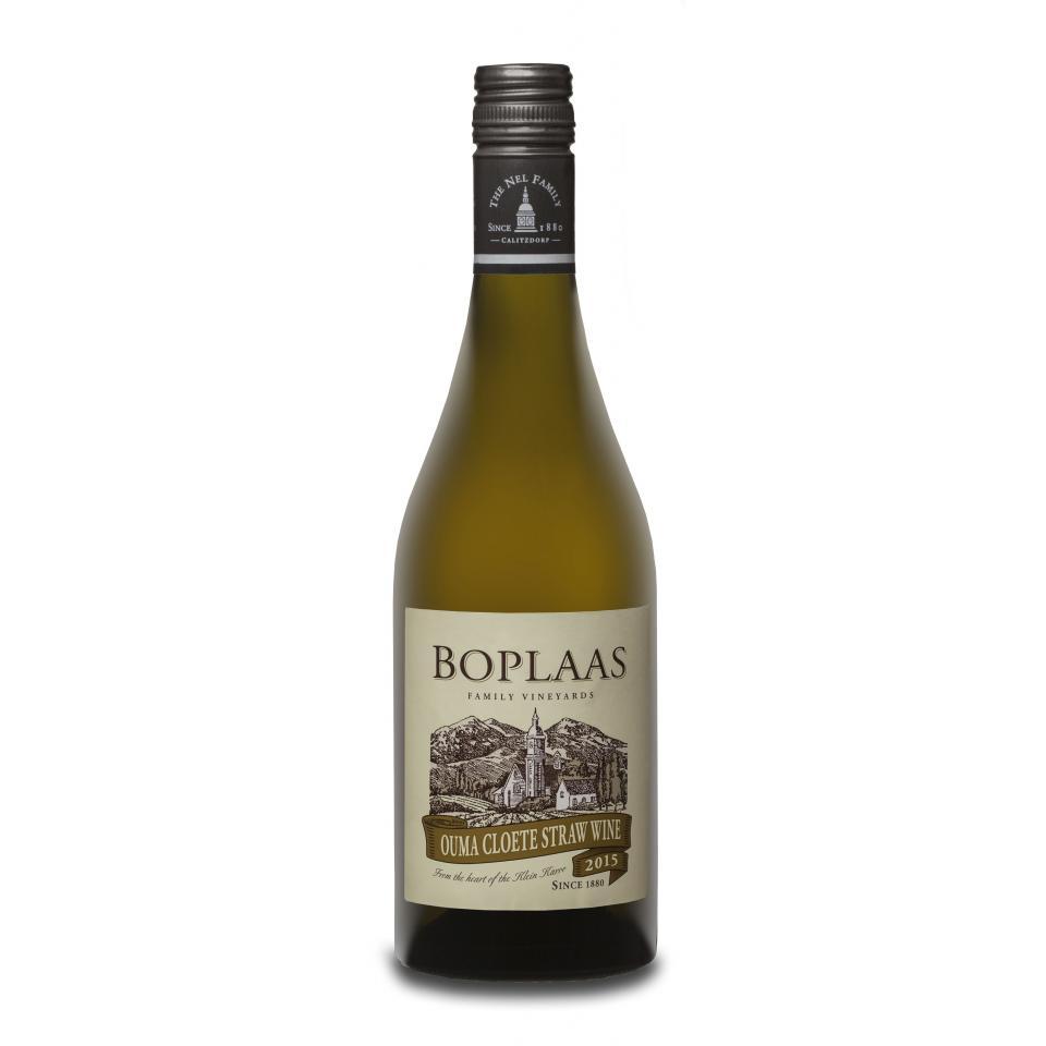 Boplaas Ouma Cloete Straw Wine 2015