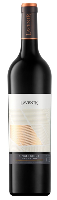 "L'Avenir ""Single Block"" Pinotage 2015"