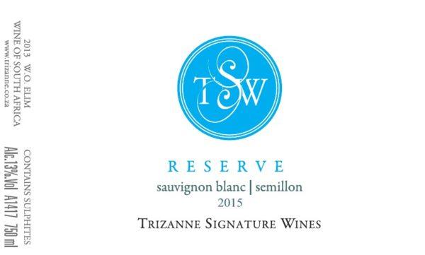 Trizanne Signature Wines Reserve Sauvignon Blanc/Semillon blend 2016