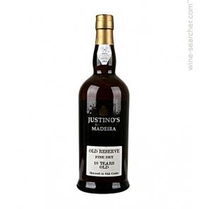 Madeira Justino's - Old Reserve 10 Years Fine Dry