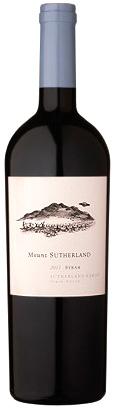 Mount Sutherland Syrah 2012