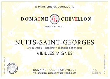 Nuits St-Georges Robert Chevillon Vieilles Vignes 2014