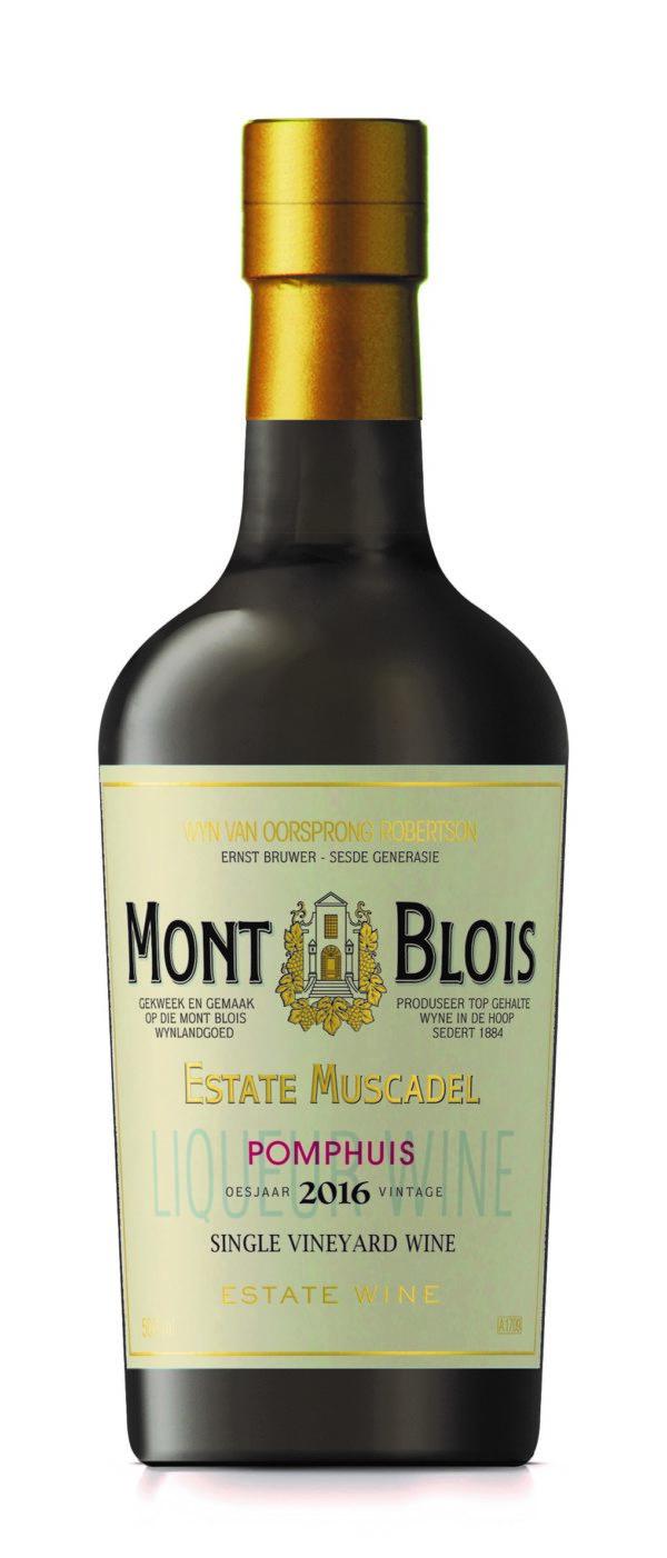 Mont Blois Estate Muscadel Pomphuis 2016