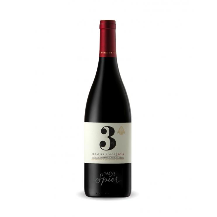 Spier Creative Block 3 Red Blend 2014