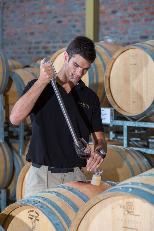 Uva Mira winemaker, Christiaan Coetzee