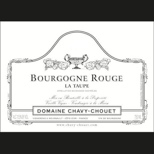 Bourgogne Rouge La Taupe, Chavy-Chouet 2015