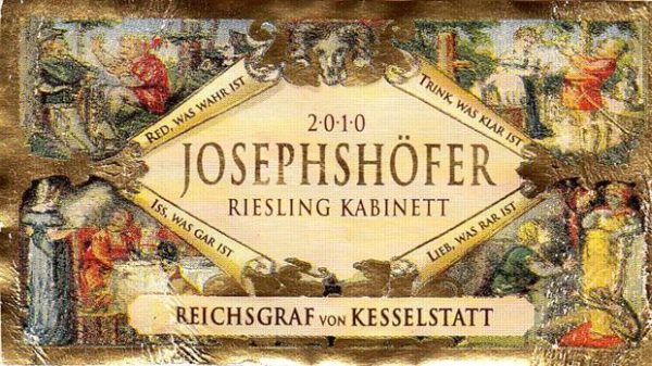 Riesling Von Kesselstadt Josephshoffer Kabinett 2015